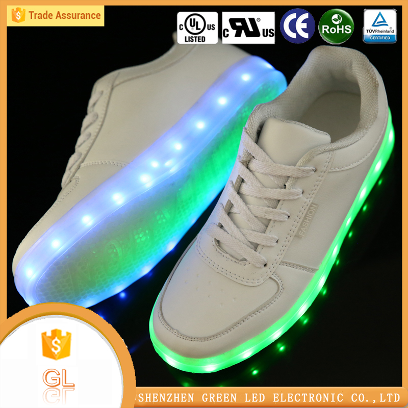 Buy shoes china adjustable color simulation night light shoes