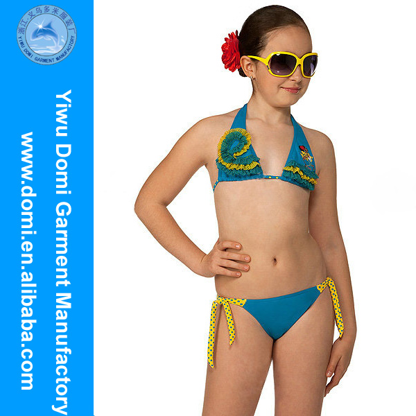 Mini girl bikini models