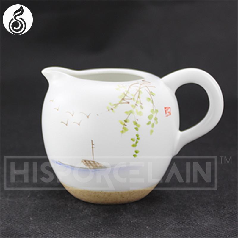 Porcelana set te transparente mano de impresión porcelana china ...