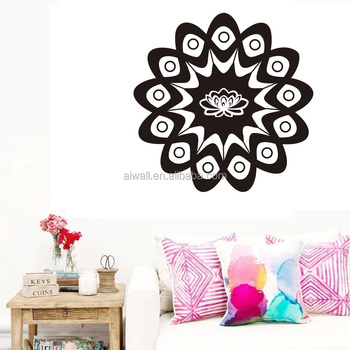 K3 Mandala Wall Decal Vinyl Sticker Decor Menhdi Om Indian Hindu Buddha Mural Mantra