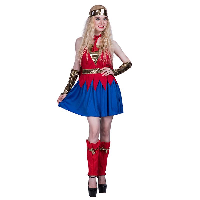 Super Hero Cosplay Sexy Wonder Woman Movie Costumes For Halloween