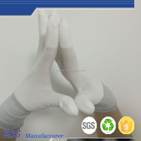 PU Top Fit Assembly Work Gloves For Small Parts