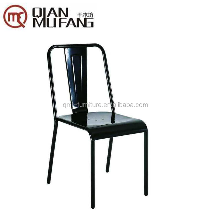 design target black powder coating cast iron outdoors chairs