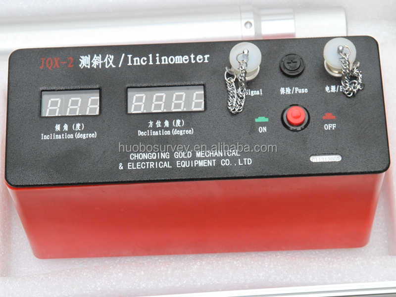 Geophysical survey equipment JQX-2 well drilling inclinometer digital inclinometer price
