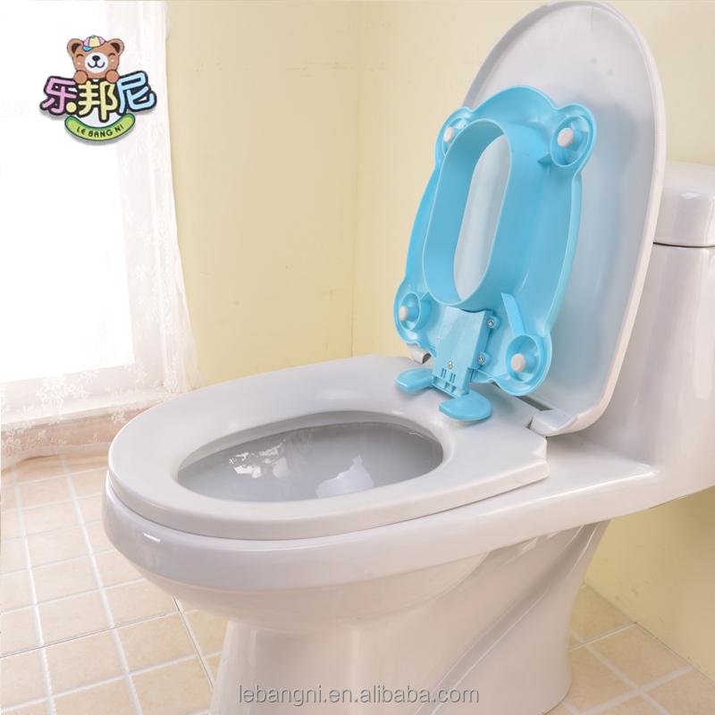 Baños Con Inodoro Azul:Cuadrada de plástico bebé asientos de inodoro para niños azul