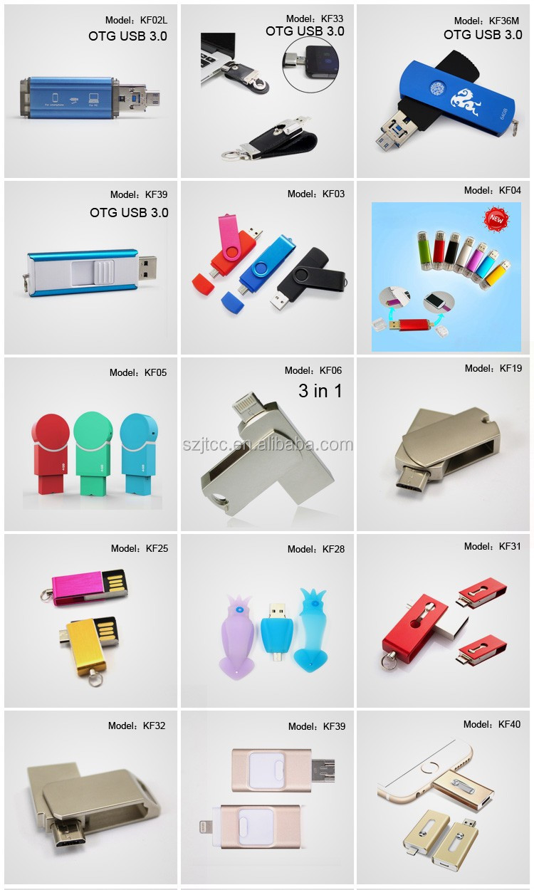 New Model Bulk 32GB Smart Phone USB Flash Drives Cool