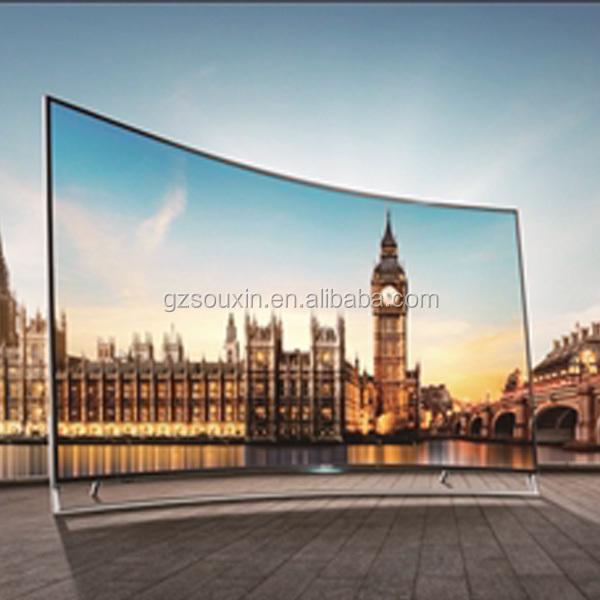 Изогнутый 80 дюймовый смарт 4k led телевизор новый дизайн