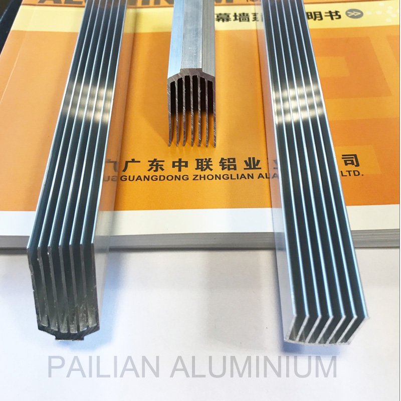 Aluminium heat sink for Bitcoin mining machines