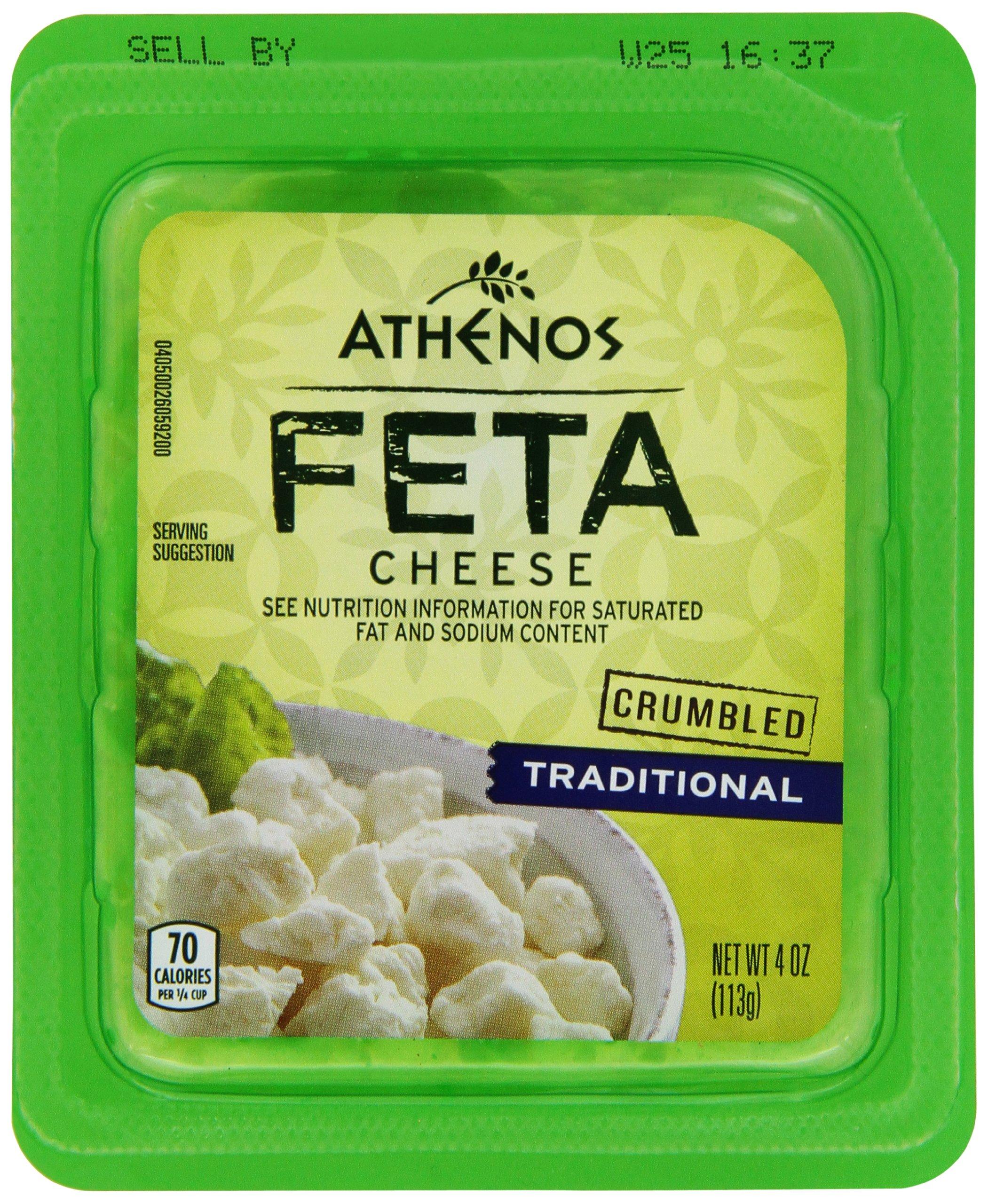 Athenos, Crumbled Feta, 4 oz