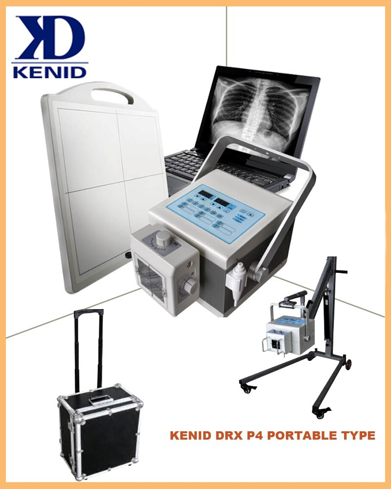 China CE digital portable x-ray equipment P4 medical x-ray fluoroscopy machine for sale