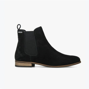 2019 botas black ladies ankle boots flat suede leather women chelsea boots