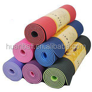 Promotional tpe kids yoga mat printed with your logo wholesale