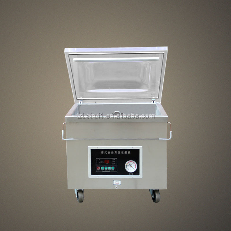 vacuum sealer with gas-flushing
