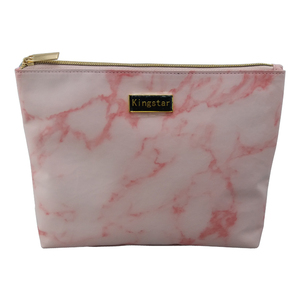 Marble Printed travel kits Cosmetic Bag Wash Pouch makeup Bag