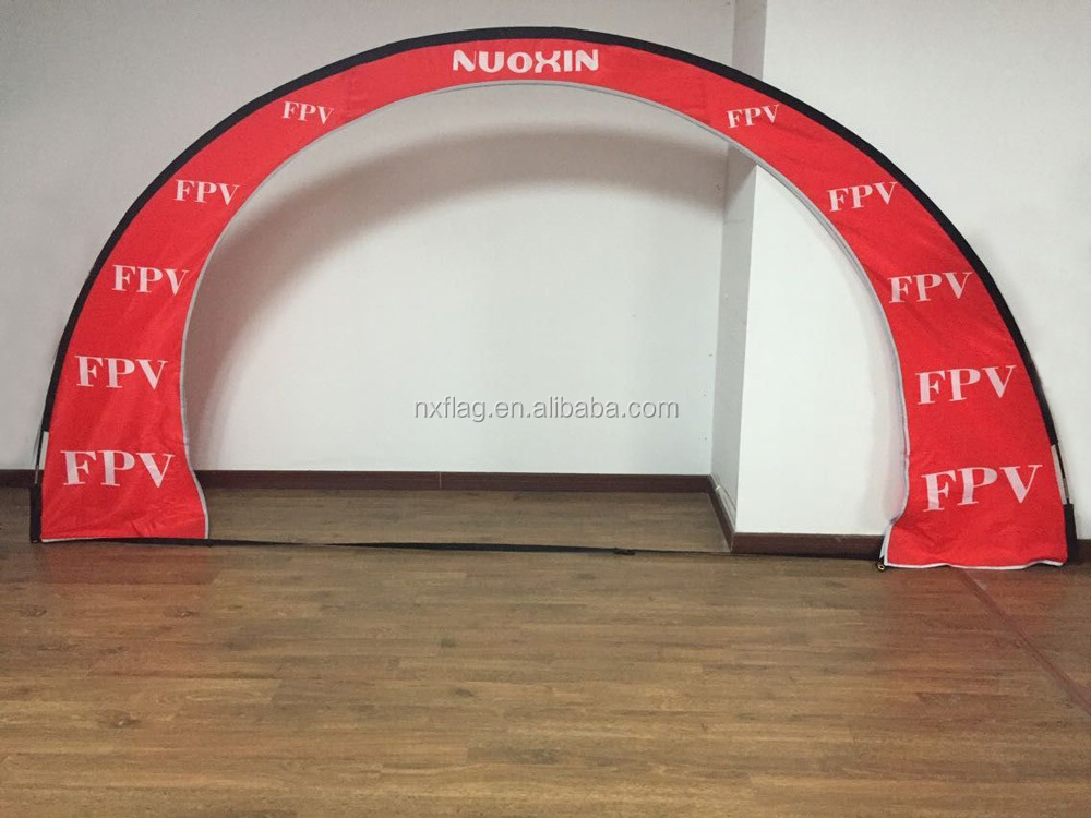 custom printed standard Fly Under Arch Air Race Gate for FPV Drone Racing