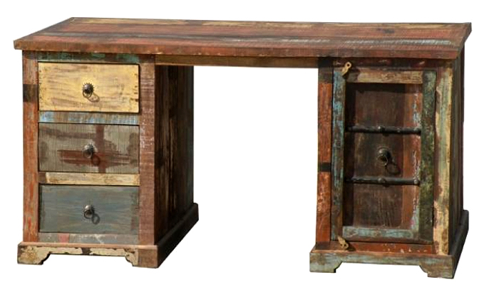 Reclaimed Wood Computer Desk Indian Old Ethnic Furniture Product On Alibaba