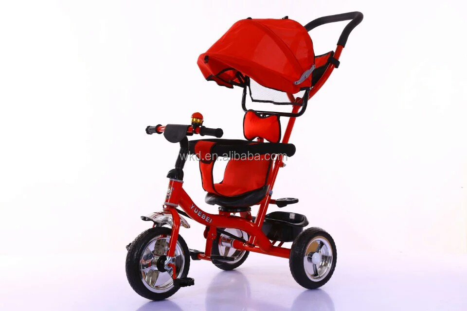 kids tricycles manufacturering factory children tricycle with trailer metal tricycle