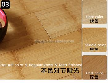 Stained gekleurde solid bamboe vloeren zwart walnoot ce buy