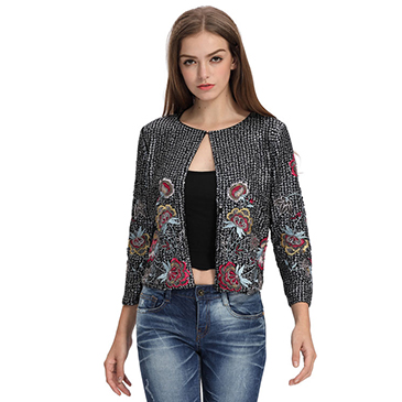 Domin fashion women supreme travel jacket model