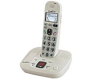 Clarity - 53712-000 - D712 DECT 6.0 Amplified/Low Vision Cordless Phone