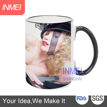 15OZ high-quality ceramic mug Ceramic Material sublimation mug orca coating mug/cup