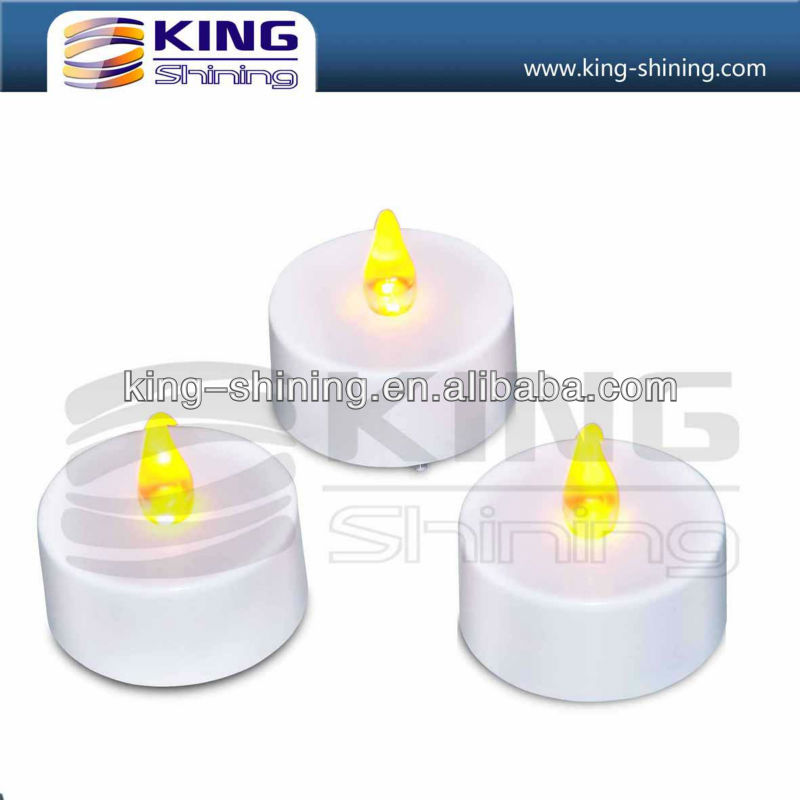 hot selling battery operated decorated led candles