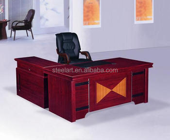 Hot Sale New Design Modern Wooden L Type L Shape Office Table
