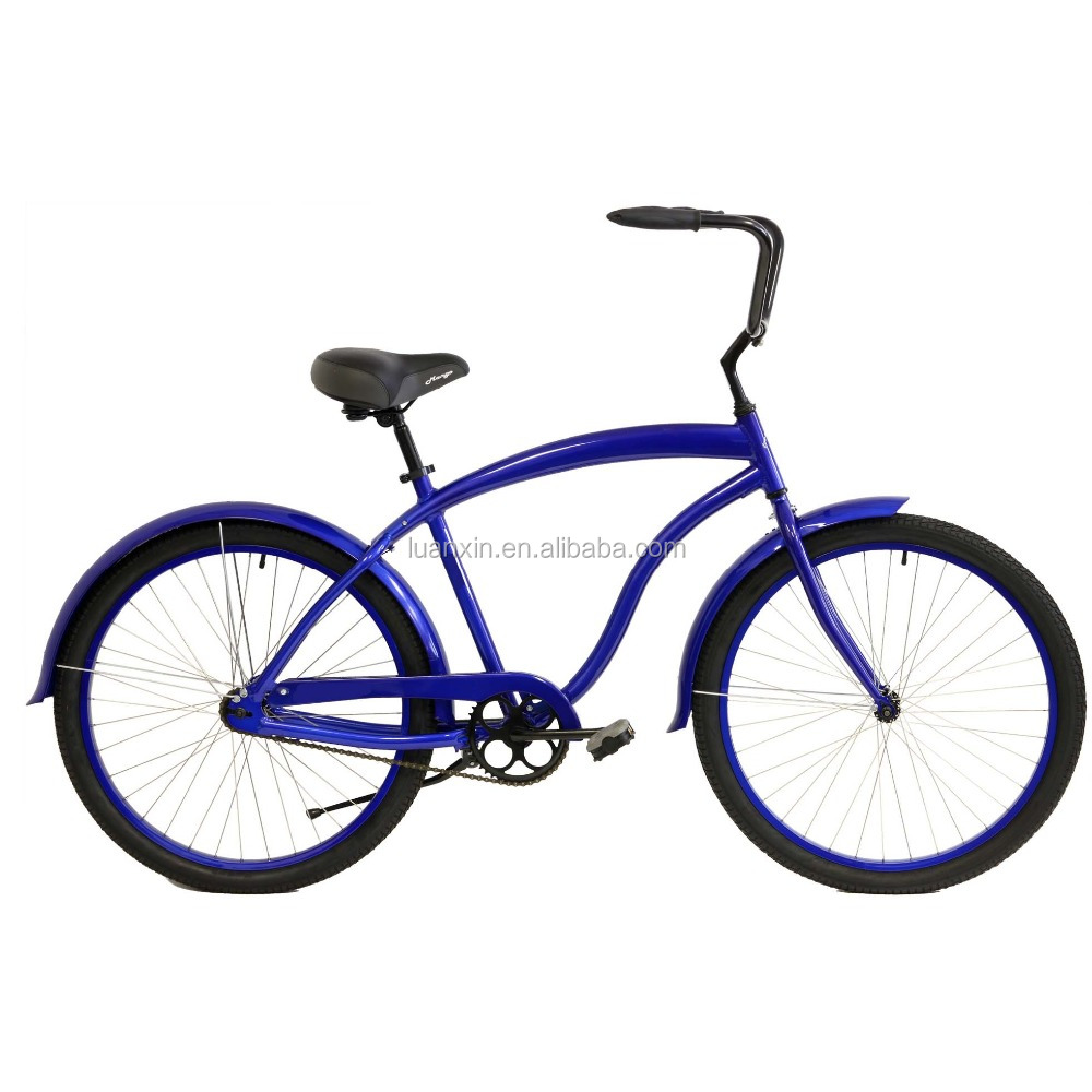26inch englon style vintage single speed lady's beach cruiser bike