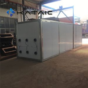 5600kg/h raw food dehydrators export to Mexico