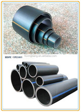Flexible plastic waterproof pipe