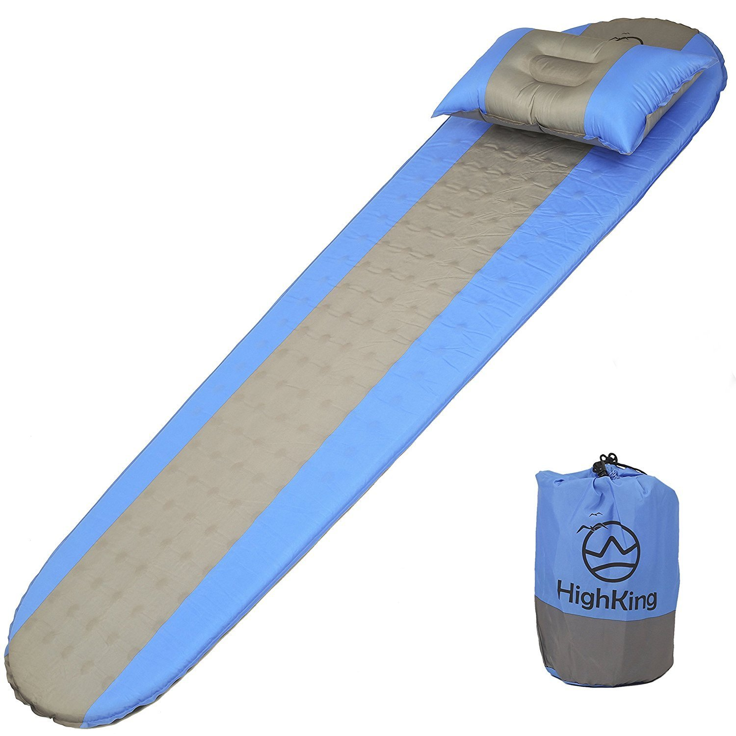 Get Quotations · Lightweight Self inflating Sleeping Pad | Unique Foam Controlled Ideal for Camping and Hiking - Cheap Walmart, find Walmart