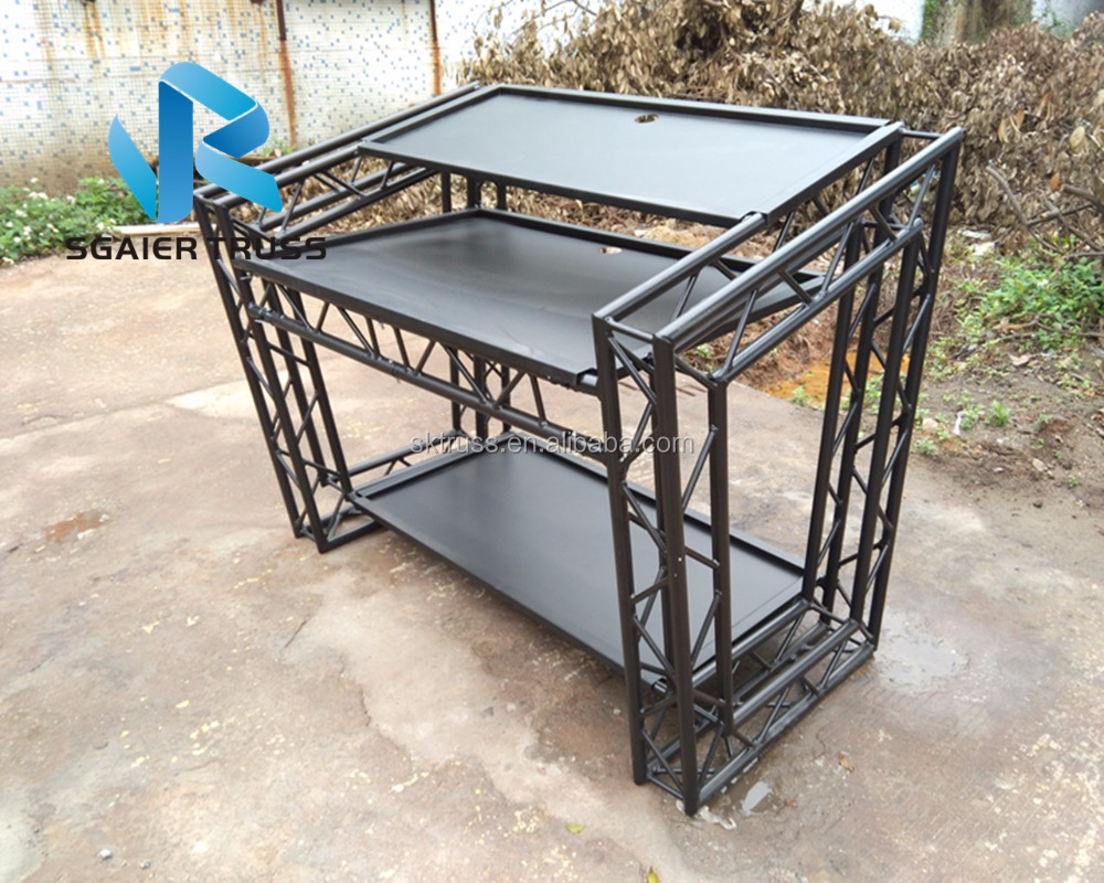 Dj Booth For Sale >> Good Market Aluminum Truss Portable Dj Booth Dj Table For Sale Buy Aluminum Truss Dj Booth Portable Dj Booth Dj Table For Sale Product On