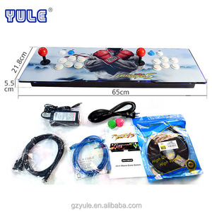 YU LE 2018 Newest indoor amusement pandora box 4/5 999/960 games in one console for sale
