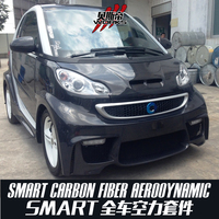 08-14 Smart ForTwo BSM Style Portion Carbon Fiber Body Kit For Mercedes