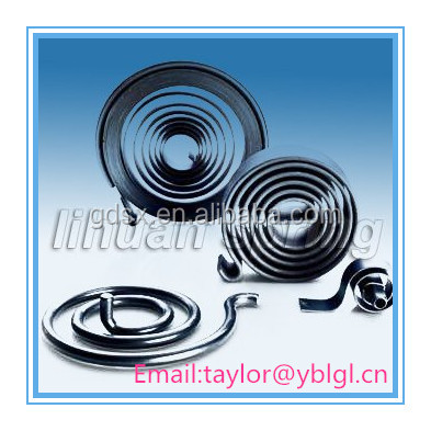 custom constant force spring scroll coils springs spiral springs dongguan manufacturer