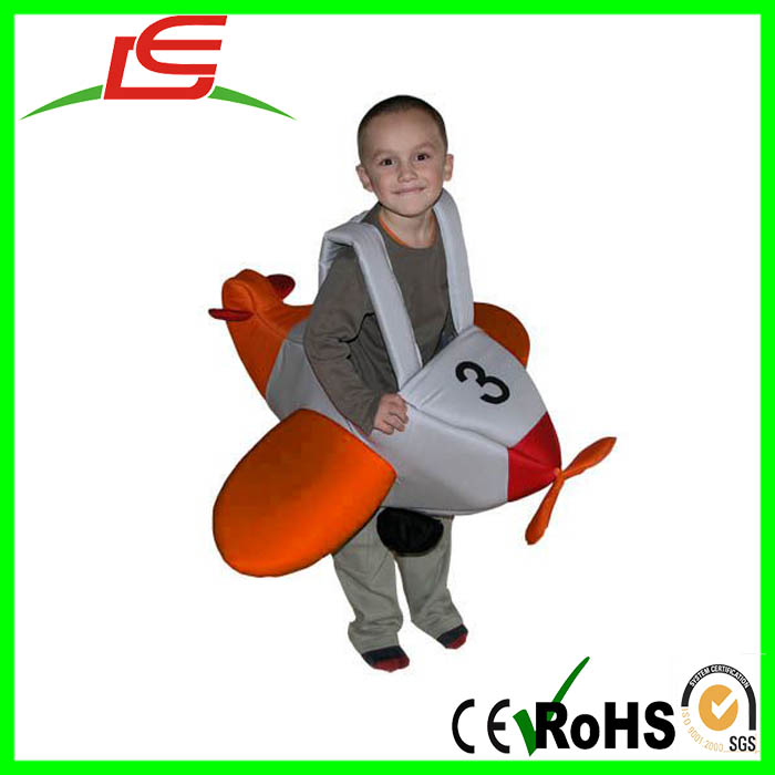 wholesale memory foam wearable toy plane for baby kids