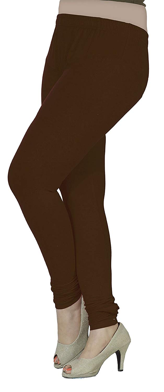 214f7cc5b0 Get Quotations · Womens Churidar 4 Way Stretchable Leggings Viscose Lycra  Fabric India Clothing