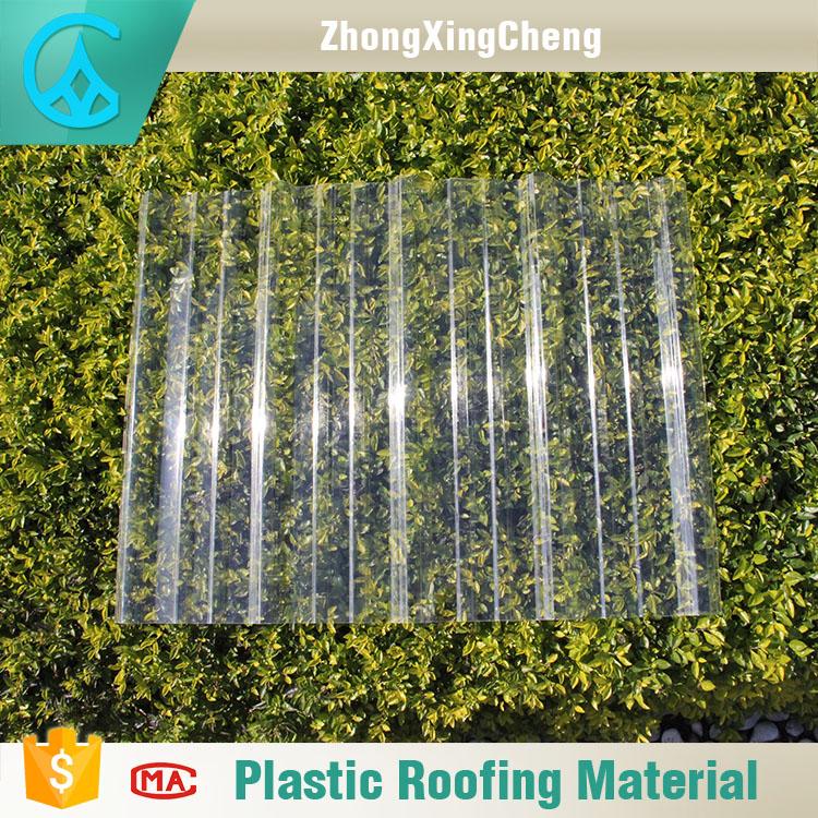 haute r sistance rentable en plastique transparent pc ondul transparent feuille de toiture pour. Black Bedroom Furniture Sets. Home Design Ideas