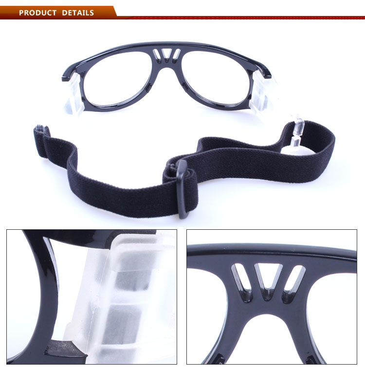 2016 Custom safety sport gasses for basketball goggles