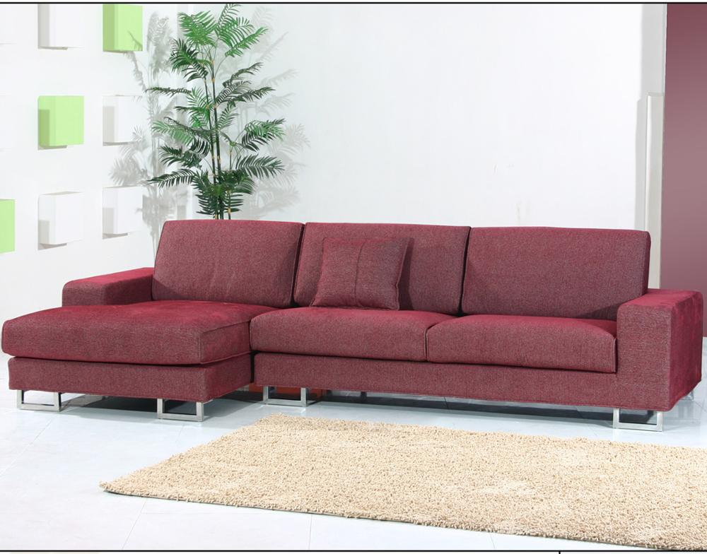 Sectional Red Sofa/simple Corner Sofa Set/simple Fabric Corner Sofa Set -  Buy Cheap Sectional Sofa,Mini Sectional Sofa,Purple Sectional Sofa Product  ...