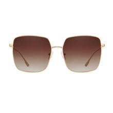Солнцезащитные очки Женские Мужские квадратные очки Оптическая металлическая большая оправа прозрачные линзы брендовые дизайнерские очк...(Китай)