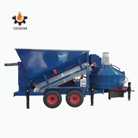 China Manufacture high efficiency lowest price mobile concrete batch/mixing plant for sale