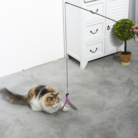 Wholesale Manufacturers Custom Bulk Wand Teaser Interactive Stick Pet Cat Toy