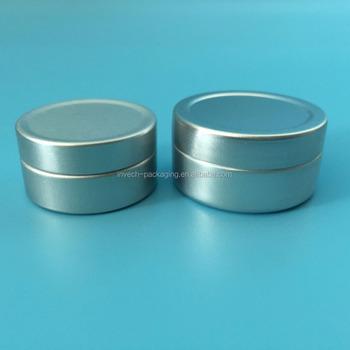 Pequena Lata De Alumínio Com Tampa De Alumíniolip Balm Caixa Da