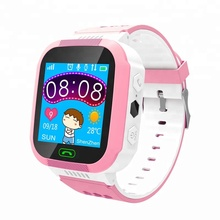 Android ce rohs 2G GSM gps tracker talking cell phone children led touch screen smart wrist hand watch