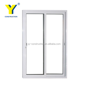 YY windows and doors AS2047 cheap sliding bathroom doors internal