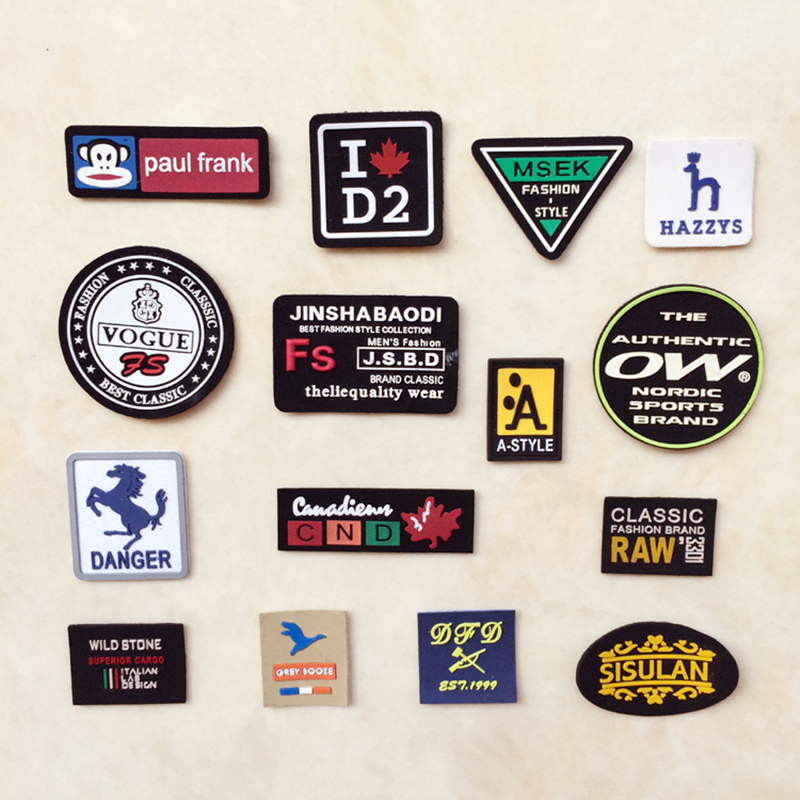 High Quality Cheap 2D And 3D Custom Rubber Soft PVC Patch No Minimum Order