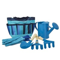 No MOQ Kids garden kit Toys beach shovel Kids garden tool set with tote bag