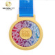2019 custom metal enamel gold silver bronze sport volleyball medals
