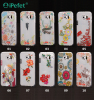 custom follow design transparent TPU case for samsung s6
